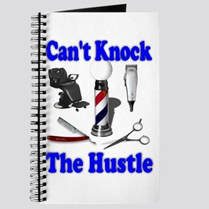 Cant Knock The Hustle-Blue Journal