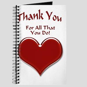 Thank You Heart Journal