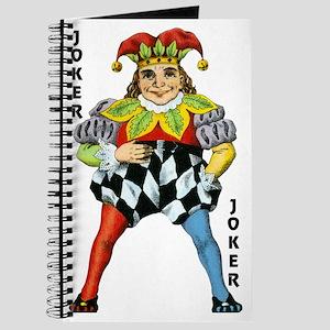 Vintage Court Jester Wacky Joker Journal