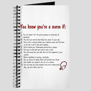 You're A Nurse If... Journal