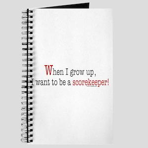 ... a scorekeeper Journal
