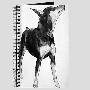 Miniature Pinscher Sketch Journal