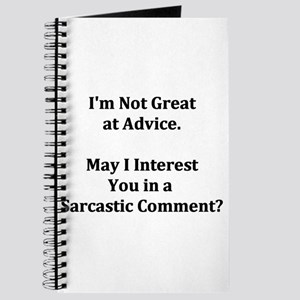 Sarcastic Comment Journal