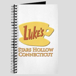 Luke's Diner Stars Hollow Gilmore Girls Journal