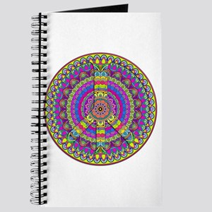 Peace Sign Mandala Journal