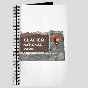 Glacier National Park Sign, Montana Journal