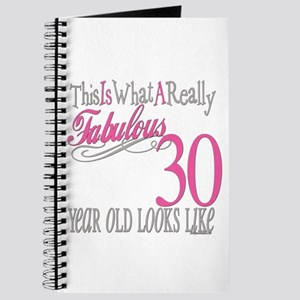 30th Birthday Gifts Journal
