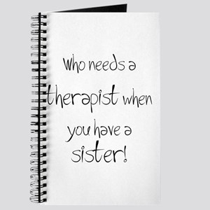 Who needs a therapist? Journal
