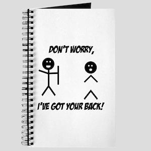 I've got your back Journal