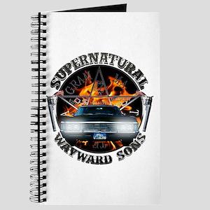 Supernatural Wayward Sons silver Journal