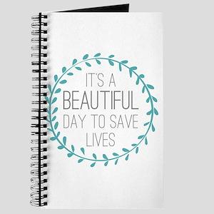 Greys Anatomy Its A Beautiful Day Journal