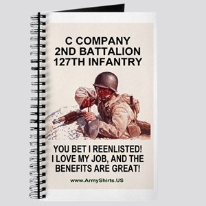 ARNG-127th-Infantry-C-Co-Reenlistment-Post Journal