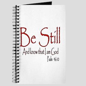 Be Still (2) Journal