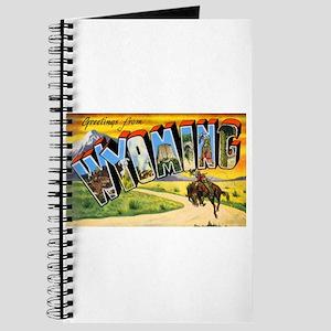 Wyoming Greetings Journal