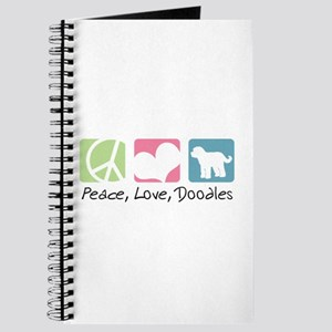 Peace, Love, Doodles Journal
