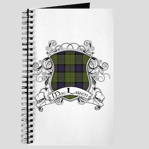 MacLaren Tartan Shield Journal