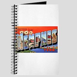 Memphis Tennessee Greetings Journal