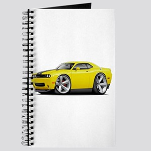 Challenger SRT8 Yellow Car Journal