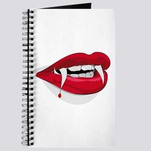 Halloween Vampire Teeth Journal