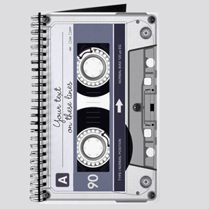 Customizable Cassette Tape - Grey Journal
