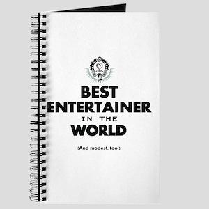 Best Entertainer in the World Journal
