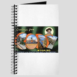 Cody Wyoming Greetings Journal