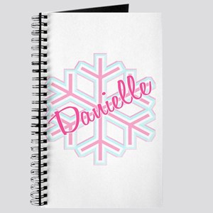 Danielle Snowflake Personalized Journal