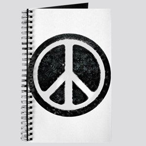 Original Vintage Peace Sign Journal
