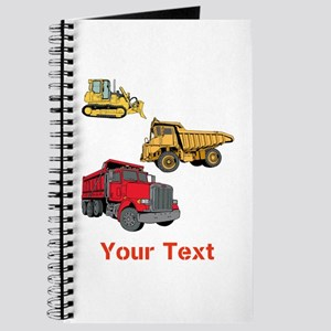 Works Site Vehicles and Text Journal