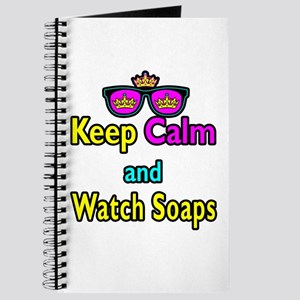 Crown Sunglasses Keep Calm And Watch Soaps Journal