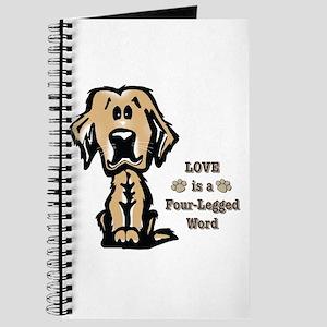 Love Is A Four Legged Word Journal