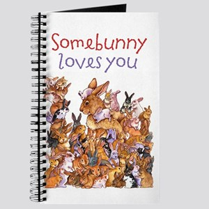 """Somebunny Loves You"" Journal"