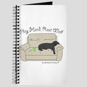 Black Lab - Play Hard Journal