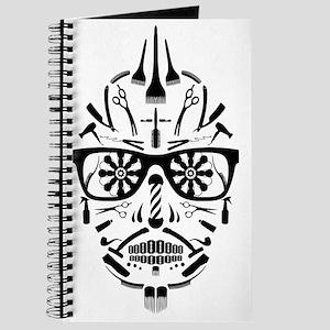 barbershop punk skull Journal