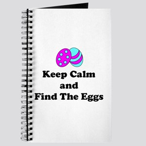 Easter Keep Calm And Find The Eggs Journal