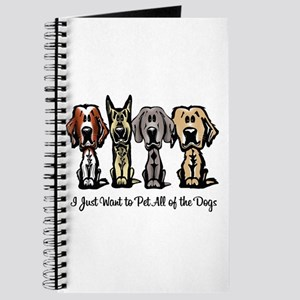 I Just Want to Pet All of the Dogs Journal