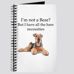 Airedale Surprised He Isn't a Bear Journal