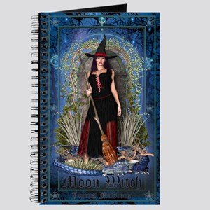 Moon Witch - Notebook Journal (Blue Cover)