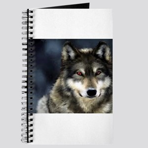 Wolf with Red Eyes Journal