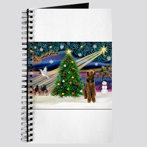 Xmas Magic & Airedale (#1) Journal