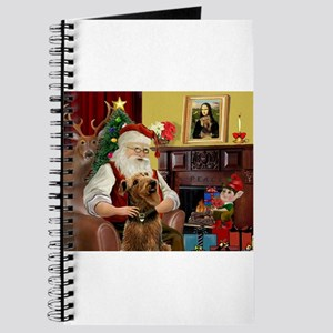 Santa and his Airedale Journal