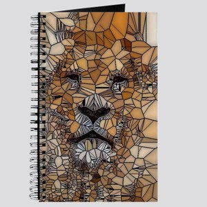 Lion mosaic 001 Journal