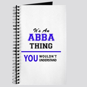 ABBA thing, you wouldn't understand! Journal