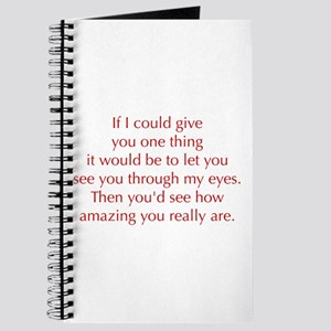 if-I-could-give-you-one-thing-opt-red Journal
