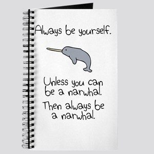 Always Be A Narwhal Journal