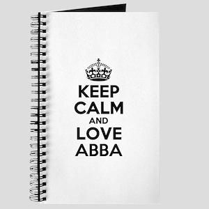 Keep Calm and Love ABBA Journal