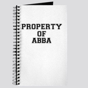 Property of ABBA Journal