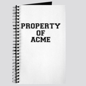 Property of ACME Journal