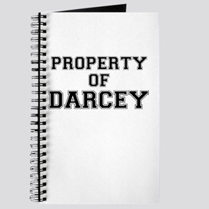 Property of DARCEY Journal