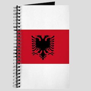 Albanian Flag Journal